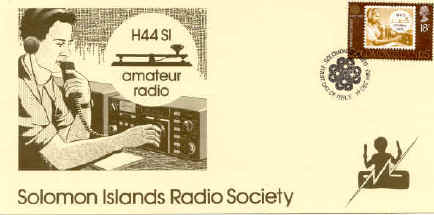 H44SI Solomon Islands Amateur Radio Society FDC
