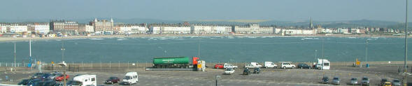 Weymouth from the Condor Cat
